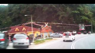 cameron highlands ringlet to plaza toll tapah