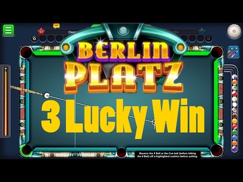 8 Ball Pool 3 Lucky Berlin Platz Game 150M Coins