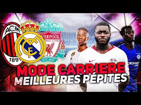 FIFA 20 - MODE CARRIERE LES MEILLEURES JEUNES PEPITES