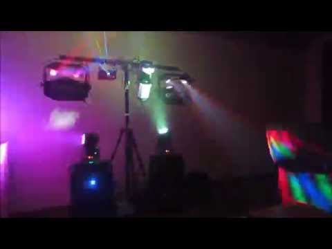 My Full DJ/Light setup!!