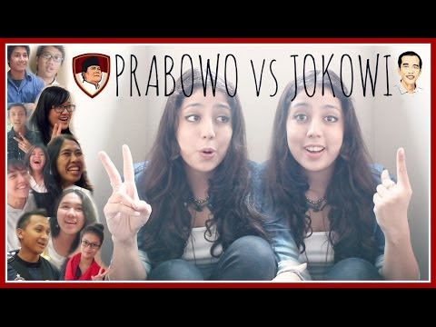 PRABOWO OR JOKOWI - YOUNGSTERS CHOOSE!