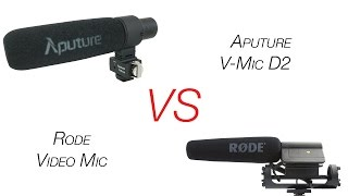 Shocking Discovery about Rode Mics Aputure V-Mic D2 VS Rode Mic