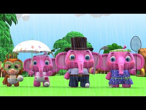 Rain Rain Go Away | Plus Lots More Nursery Rhyme Videos | Kindergarten Songs Collection
