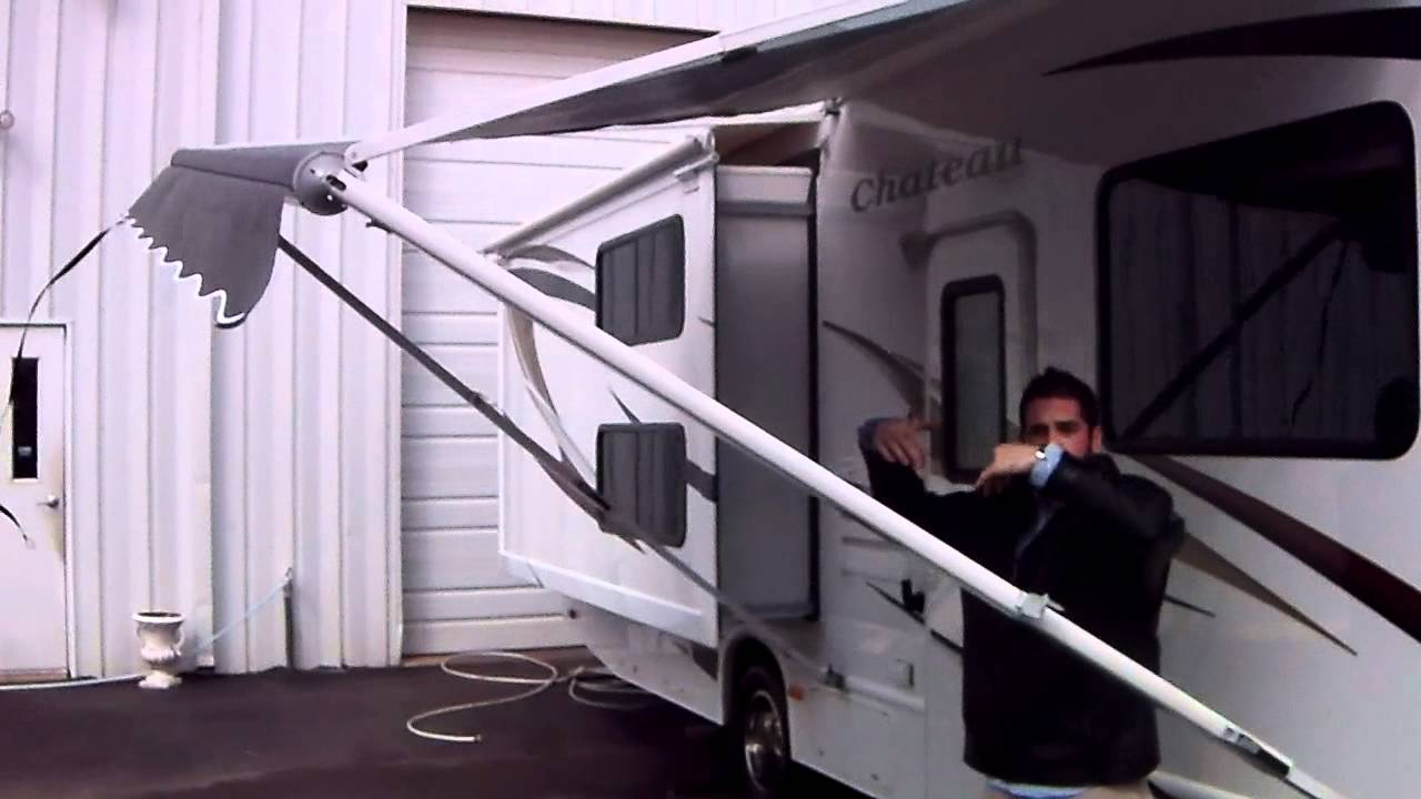 Awning How To Operate Rv Travel Trailer Or Motor
