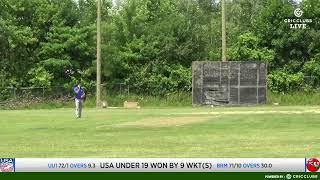 LIVE CRICKET USA Under 19 vs Bermuda U19 - ICC Americas Cricket World Cup Qualifiers