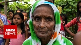 Living in limbo: Assam's four million unwanted - BBC News