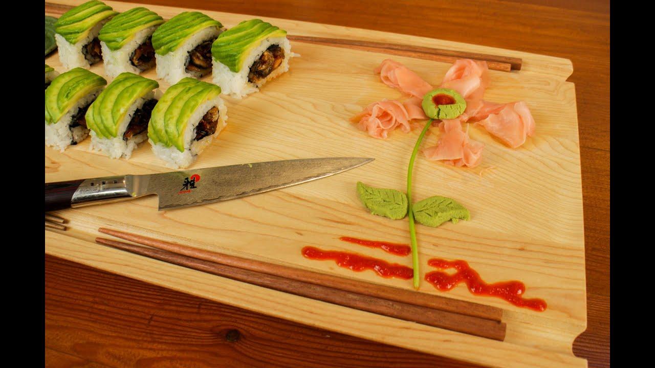 Pickled Ginger And Wasabi Garnish Art For Sushi Food & Sushi Decoration Ideas - Elitflat