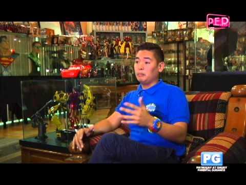 Darwin Santos  PEP  at PEP TV part 2