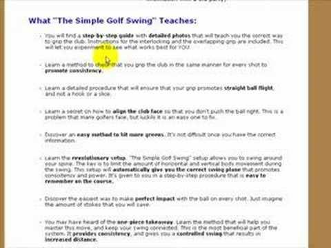 Golf Swing Basic Book   Perfect Golfswing