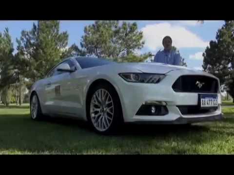 FORD MUSTANG V8 GT .TEST AUTO AL DÍA (12/11/16)