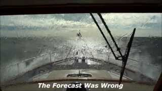Fleming 65 in 51 Knots of Wind