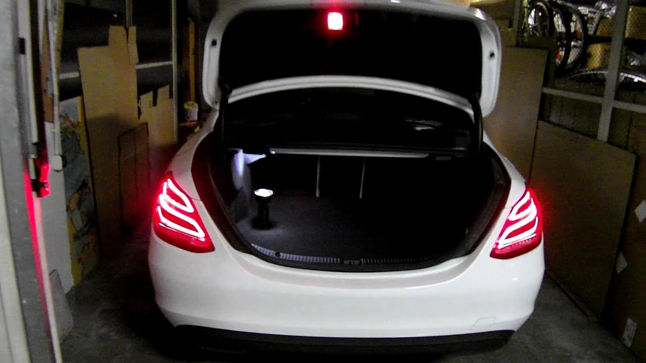 Mercedes-Benz W205 Trunk Space Boot Size TEST POJEMNOSCI ...