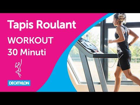 Allenamento 30 minuti Tapis Roulant