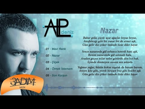 Alp Deniz - Nazar ( Official Lyric Video )
