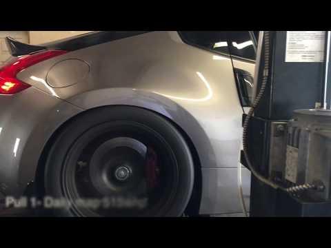 Air to Air Stillen SC 370z dyno - YouTube
