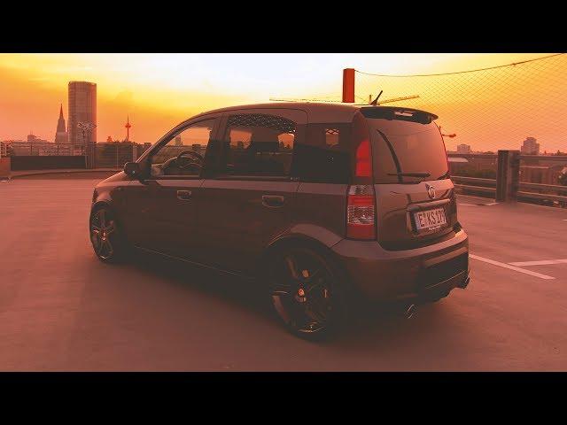 Kai´s dropped FIAT Panda 100 HP - KW Variante 1 - 4K
