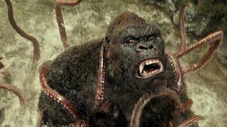 ILF - KONG vs GIANT SQUID - Kong  Skull Island 2017 Movie Clip HD
