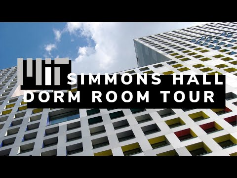 MIT Dorm Room Tour: Simmons Hall (2016)