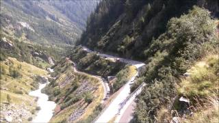porsche 996 911 turbo ferry trouble then drive to furka pass