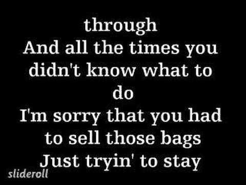 Akon apologize lyrics