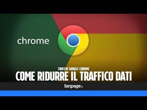 Ridurre il consumo di dati in Google Chrome
