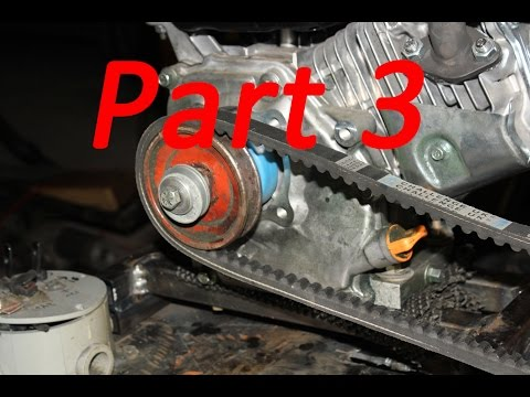 Making a Motor Mount for the Predator Engine (Part 3/3)