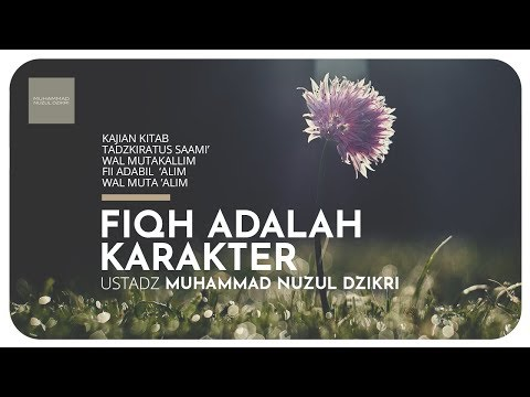 27. FIQH ADALAH KARAKTER