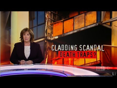 ACA. Cladding Scandal. Death Traps? (Tower Inferno. Grenfell Tower)