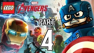 LEGO Marvel's Avengers Walkthrough PART 4 (PS4) Gameplay No Commentary  @ 1080p HD ✔
