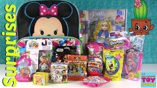 Disney Surprise Toys Tsum Tsum Bacpack | Shopkins MLP EAH | PSToyReviews
