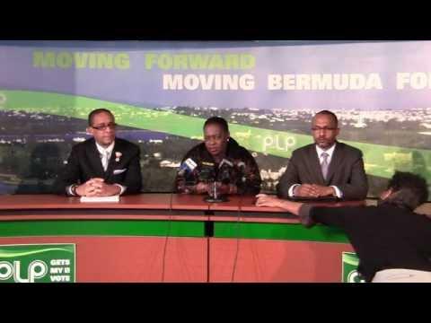PLP Confirm Dale Butler and Marc Bean Bermuda Mar 1 2012