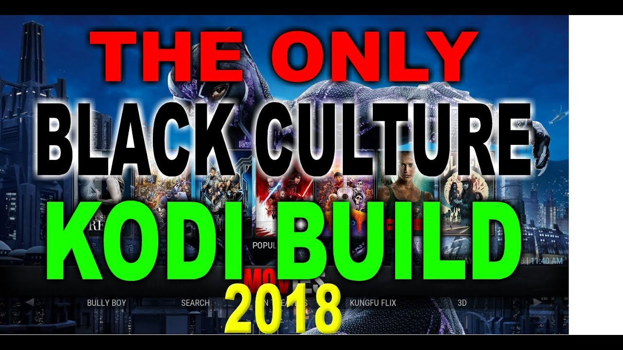 Best 2020 Kodi Builds 🔥FINALLY A KODI BUILD FOR BLACK PEOPLE 💯   KODI 17.6   YouTube