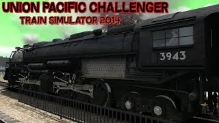 Union Pacific Challenger Loco Add-On Gameplay TS2014 PC HD
