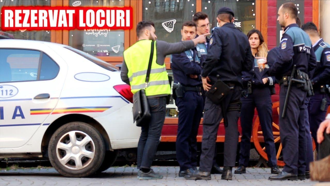 Rezerv Locul Necunoscutilor prin Bucuresti. Experiment Social + Farsa Politiei