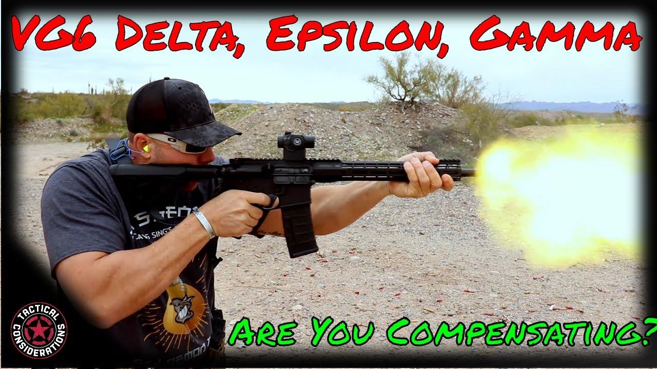 VG6 Muzzle Devices Gamma, Delta, Epsilon Frat Party!