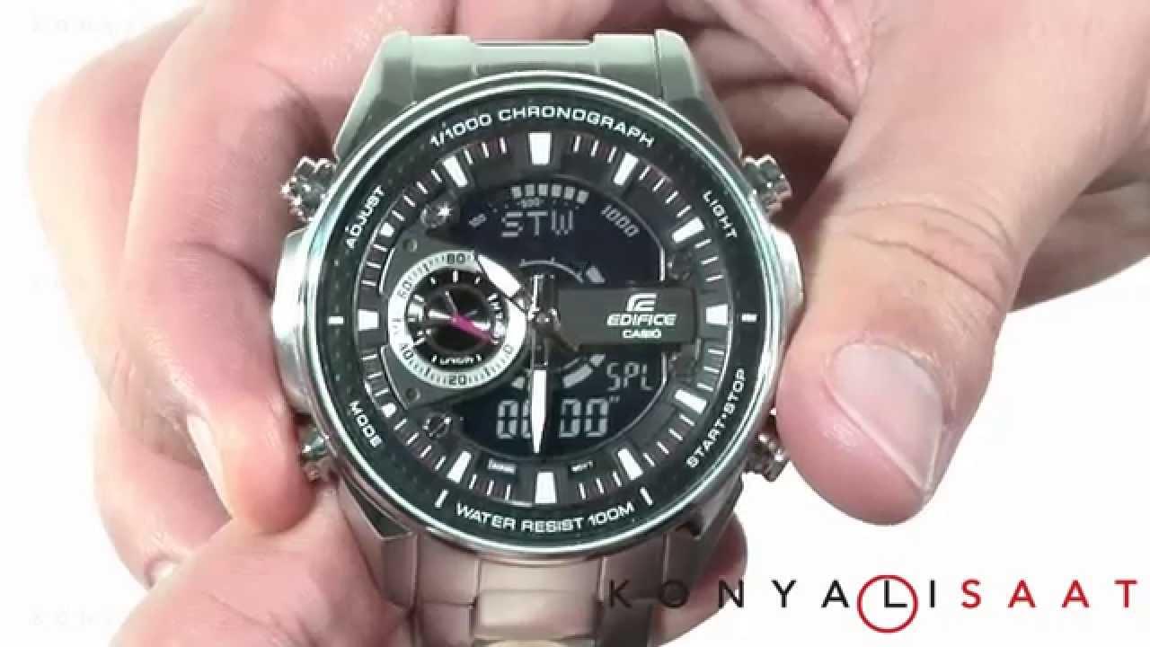 a9cf1770eebd CASIO EDIFICE EFA-133D-1A Erkek Kol Saati - YouTube