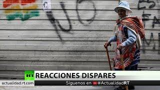La comunidad internacional reacciona tras la dimisión de Evo Morales