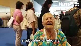 Marisa Siccardi all'INTERNATIONAL COUNCIL NURSES