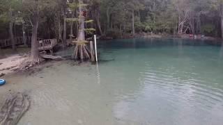 SUP Diving - Cypress Springs 9/19/18