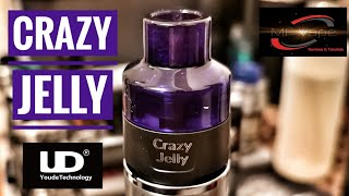 Crazy Jelly Atomiser by UD (Youde Tech) - Review by MF Vape