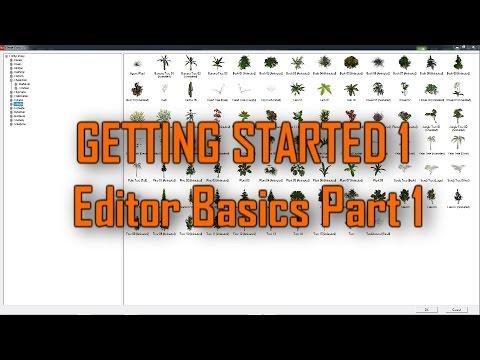 Game Guru Getting Started 1 - The Editor Basics Part 1