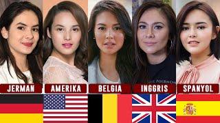 20 Artis Cantik Indonesia Bedarah Blasteran #Part2