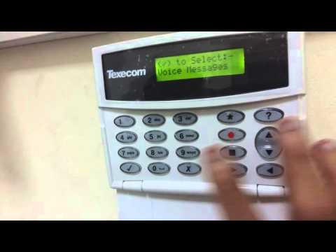 شرح برمجة texecom autodialer