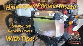 Himalayan Hard Panniers & Racks: Step-by-Step Installation & Tips