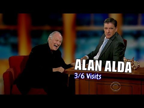 Alan Alda - He EXUDES Goodness - 3/6 Visits In Chronological Order