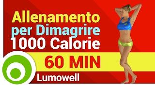 Allenamento Completo per Dimagrire e Tonificare il Corpo - Esercizi per Bruciare 1000 Calorie a Casa
