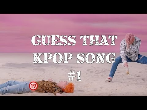 Guess That Kpop Song In 1 Second #1 (2016 Edition)