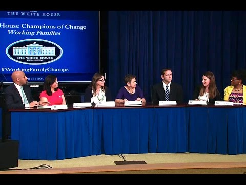 White House Working Families Champions of Change