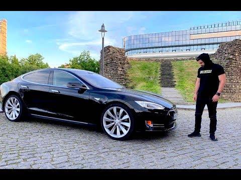 უხეში ტესტ დრაივი  TESLA Model S თელავში