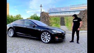 უხეში ტესტ დრაივი – TESLA Model S თელავში!